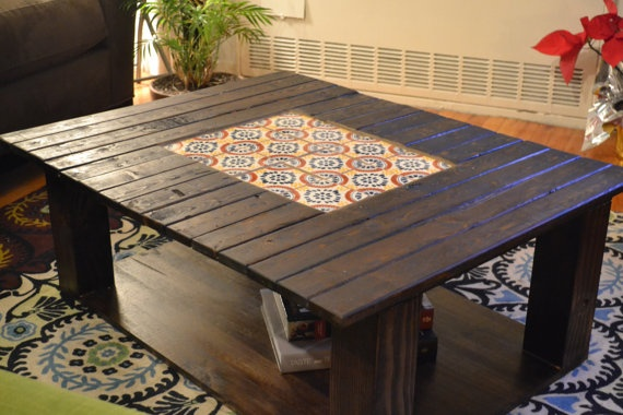 Mexican Tiled Coffee Table