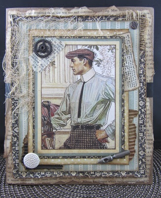 Scraps From A Broad: A Manly Card, But I Like It Too!