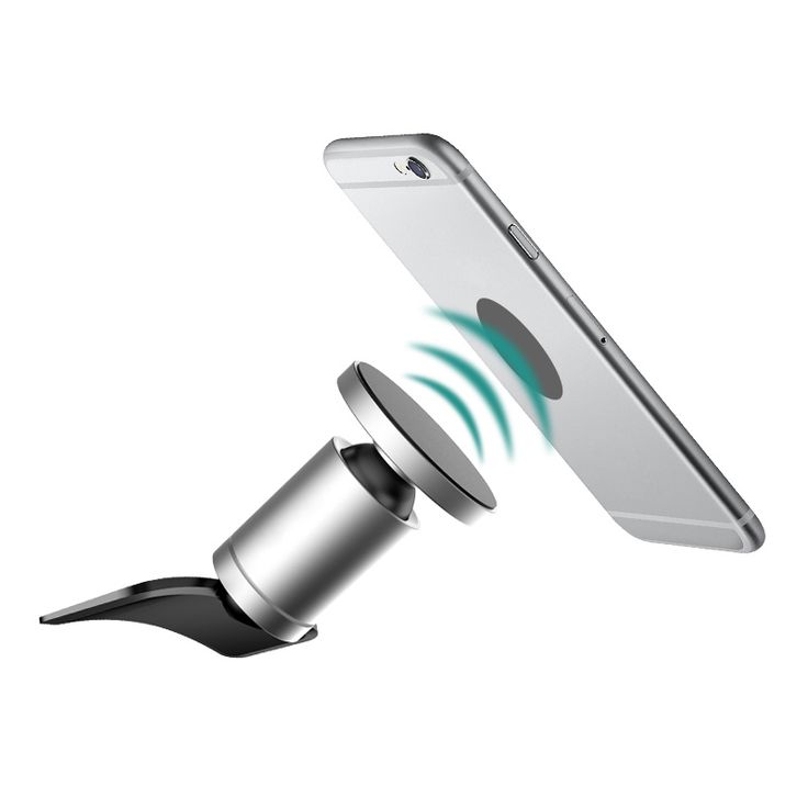 Alightstone Universal CD Slot Magnetic Cradle-less Smartphone Car Mount Holder for all iPhone and Android Devices