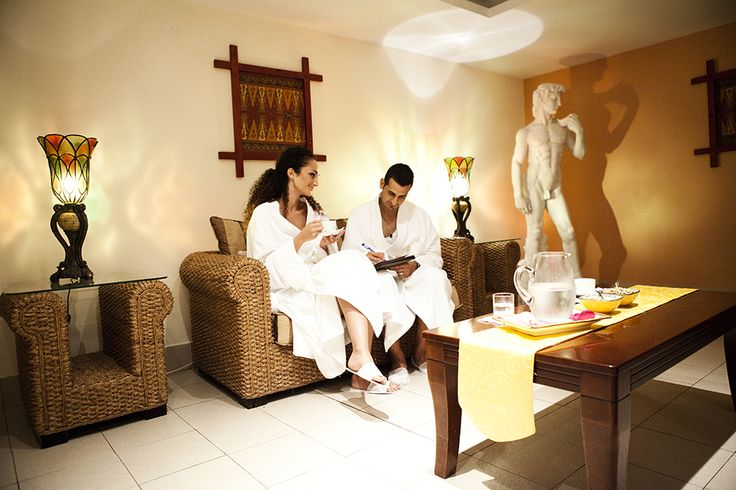 #newlyweds on their #honeymoon enjoying some #Spa time at the Le Grand Spa