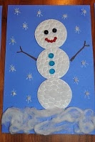 another cute snowman craft