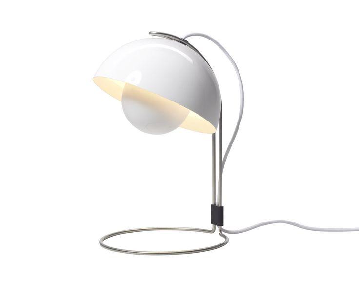 Stolní lampa FlowerPot VP4 od &tradition, bílá
