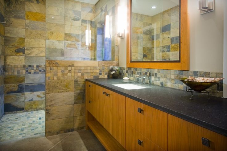 What a Bathroom! Custom Home - Victoria BC by Road's End Contracting