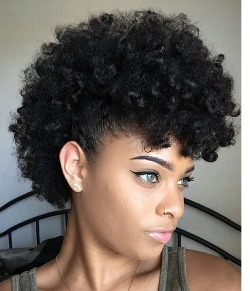 40 Mohawk Hairstyles for Black Women   Mohawk hairstyles ...