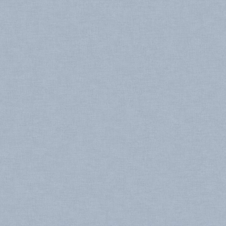 Tredje stora bilden av tapetern Linne Ljusblå