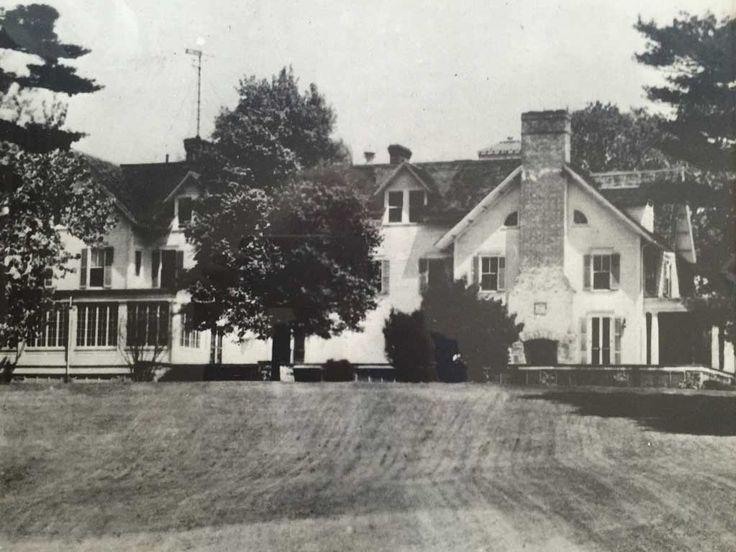 J. P. Morgan estate on the Hudson.  Eventually razed  and replaced by a Bed and Breakfast.  So sad...