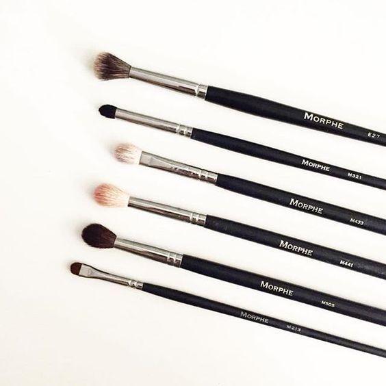 Sombras para difuminar y crear un look espectacular.  #MorpheBrushes #Brochas