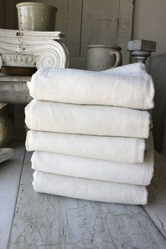 ivory coloured towels