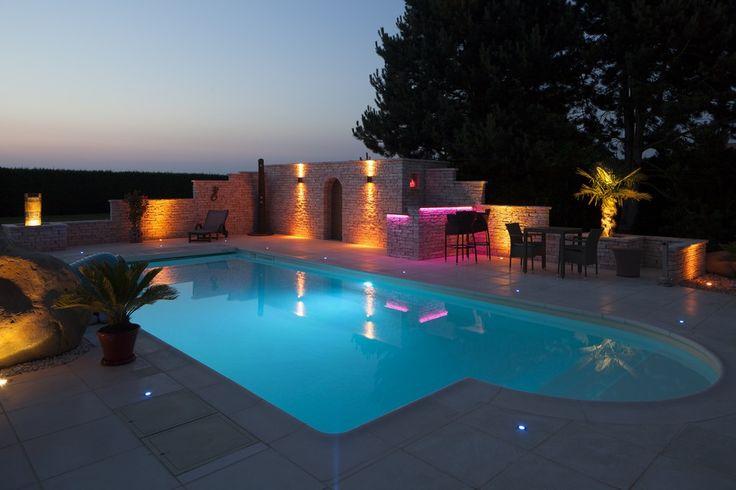 Osvetlenie bazéna Magiline