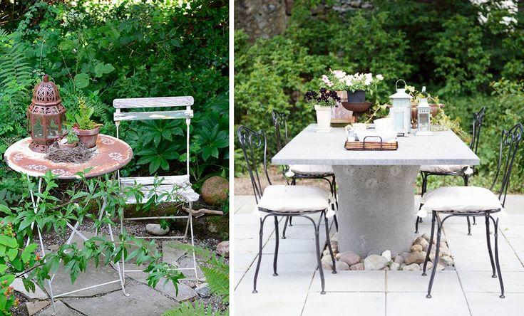Aus Alt mach Neu: Holzstühle verdienen einen neuen Anstrich und Gartenmöbel aus Metall können mithilfe eines speziellen Reinigers von lästigem Rost befreit werden