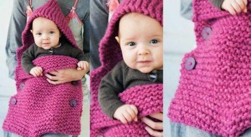 sacca per bebè con spiegazioni - la maglia di marica