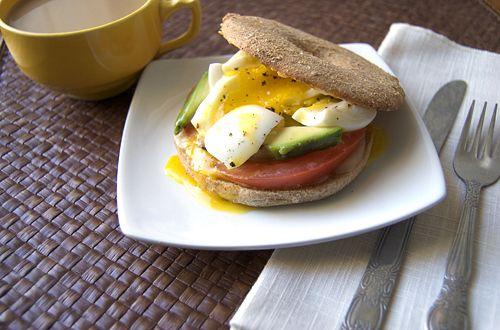 Soft Boiled Egg Bagel Sandwich #recipe via Savour The Senses http://www.yummly.com/recipe/Soft-boiled-egg-bagel-sandwich-361158