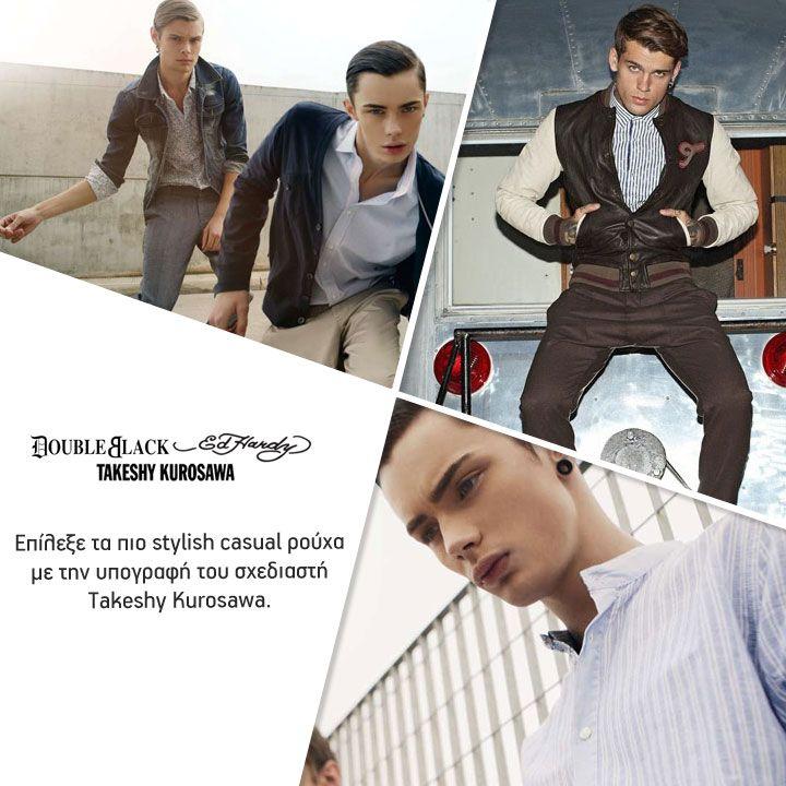 Μία συλλογή αποκλειστικά για το σύγχρονο άνδρα! Μια συλλογή με τις υπογραφές των Takeshy Kurosawa & Ed Hardy  έως -70% Τα αποθέματα εξαντλούνται! Θα προλάβεις? www.brandsgalaxy.gr