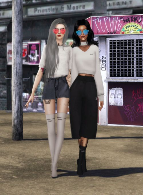 CCS - LOOKBOOK - I YOUR AMBIGUITY. SunglassesSerenityCandyBootsModels ShirtsHairSims 4Role Models