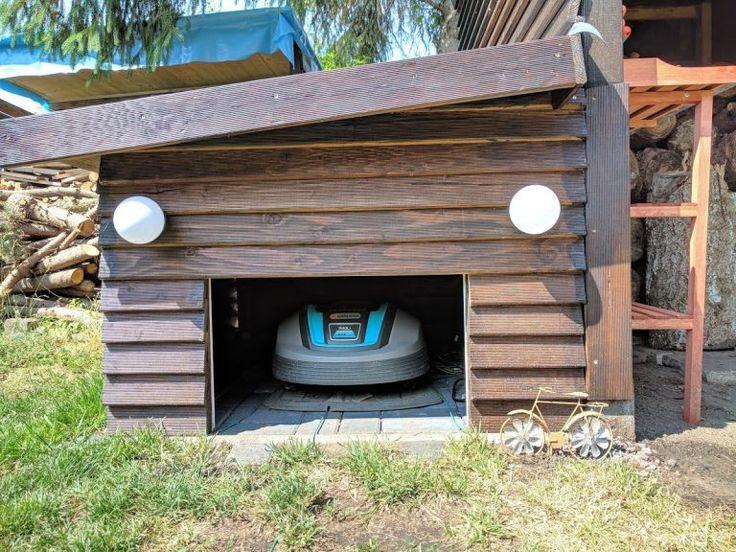 Garage für den Automower 305 selbst bauen (con imágenes