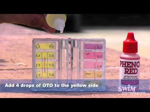 How to test your swimming pool water