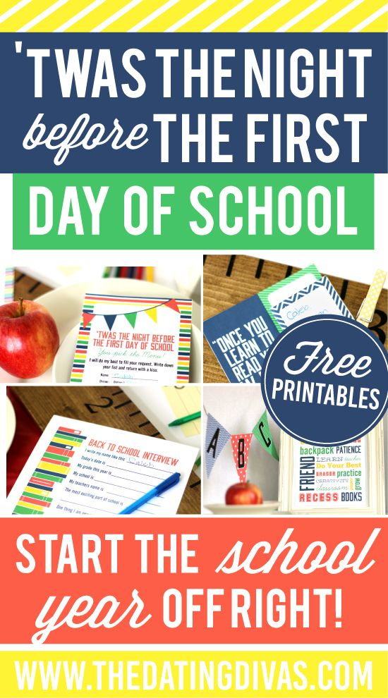 My kids would LOVE this! A back-to-school dinner is such a great way to start school! www.TheDatingDivas.com