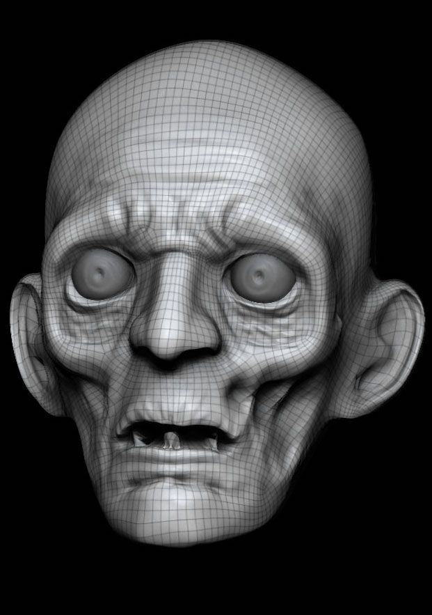 ZBrush Sculpt by CMU student Sunny Gong