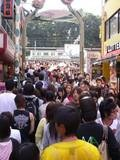 People people everywhere Harajuku Tokyo