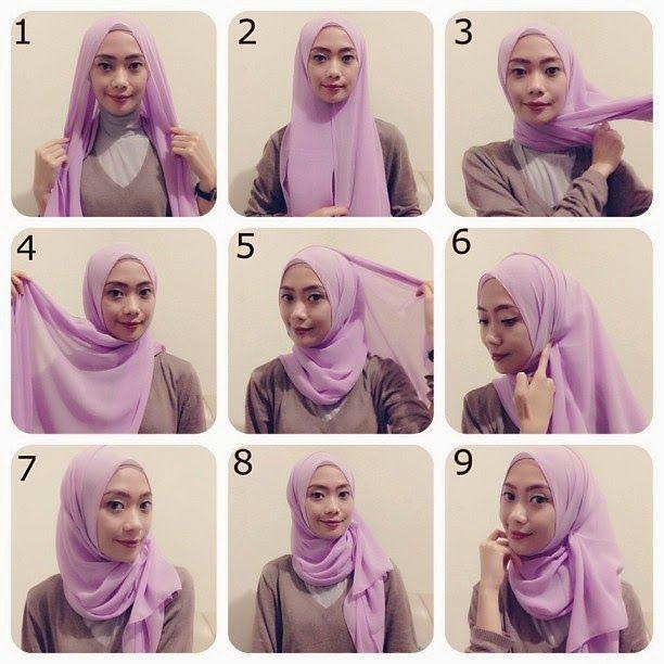 Easy hijab
