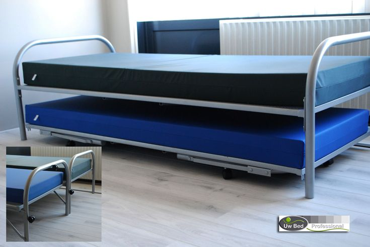 divanbedden onderschuifbed / Thrundle bed / ruimtebesparende bedden