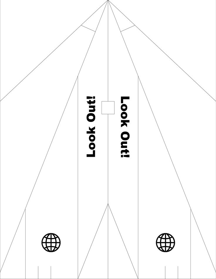 cut out airplane template - 1000 images about paper airplane 1st birthday party on