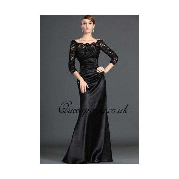 Black long prom dress uk