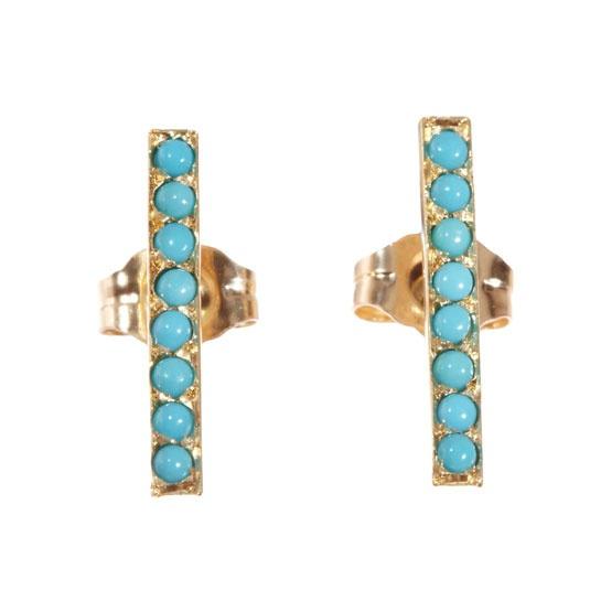 Jennifer Meyer http://www.vogue.fr/joaillerie/shopping/diaporama/bijoux-or-turquoise-jacquie-aiche-jennifer-meyer-garnazelle-sylvia-toledano/13558/image/759819#!bijoux-or-amp-turquoise-jennifer-meyer