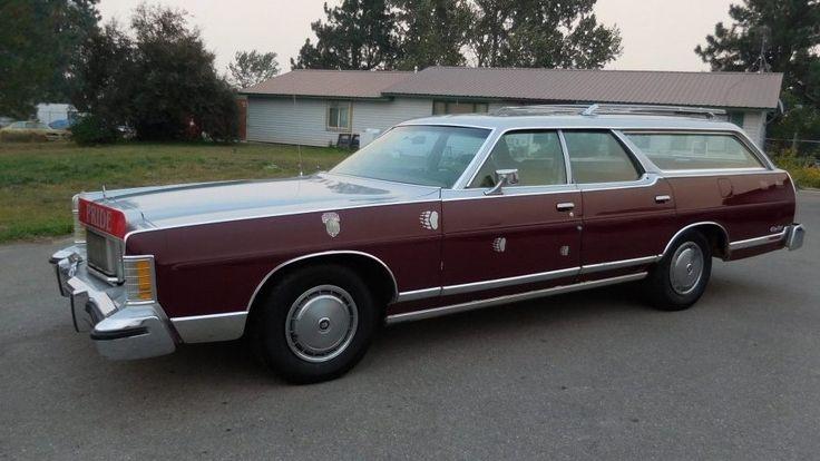Griz Pride! 1978 Mercury Grand Marquis Wagon - http://barnfinds.com/griz-pride-1978-mercury-grand-marquis-wagon/