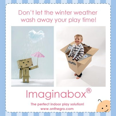 We think our Imaginabox range is the perfect solution for indoor play this winter!  What do you think?