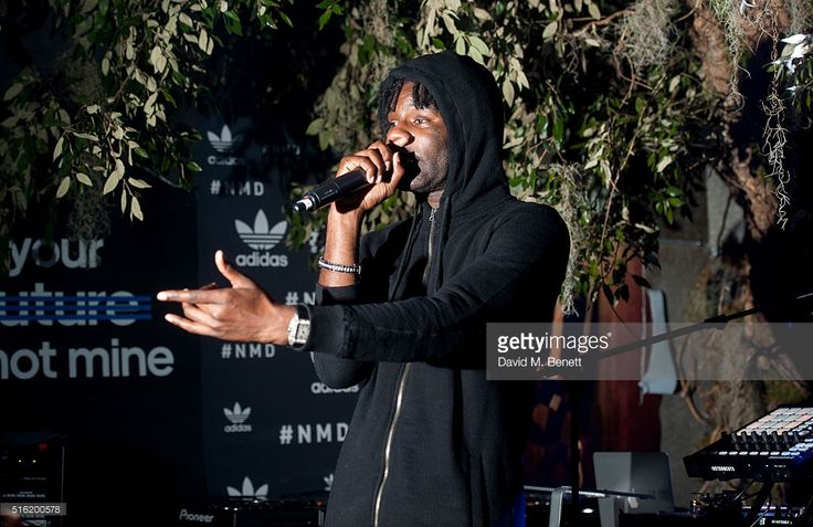 Wretch 32 at the adidas Originals launch of NMD Future House on March 17, 2016…