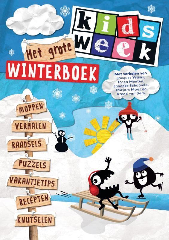 Het grote kidsweek winterboek staat boordevol met het beste dat Kidsweek, de populaire weekkrant voor kinderen vanaf zeven jaar, te bieden heeft: reportages, tests, recepten, puzzels, de leukste moppen en raadsels én strips van Timo. € 8,99