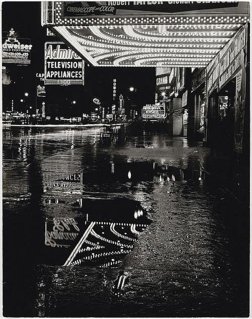 Mario De Biasi, New York City, 1955.