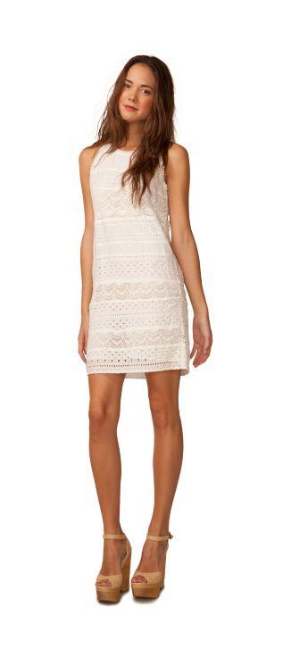 Blancher snail white plus dresses