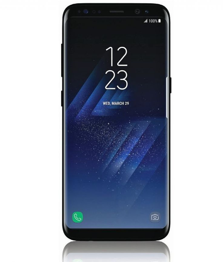 Samsung Galaxy S8 press image leaked, shows Curved display and Iris scanner