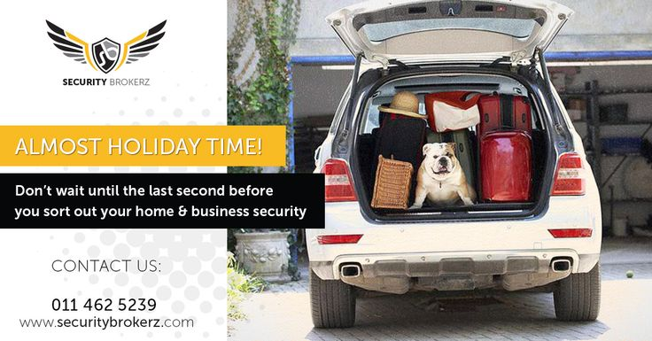 The silly season is around the corner!! Get your security sorted now. http://securitybrokerz.co.za/