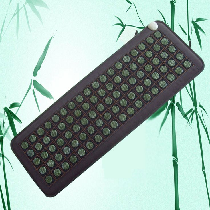 Massage Stones and Rocks: Natural Jade Tourmaline Stones Infrared Heating Mat Body 50Cmx150cm Usa -> BUY IT NOW ONLY: $151.58 on eBay!