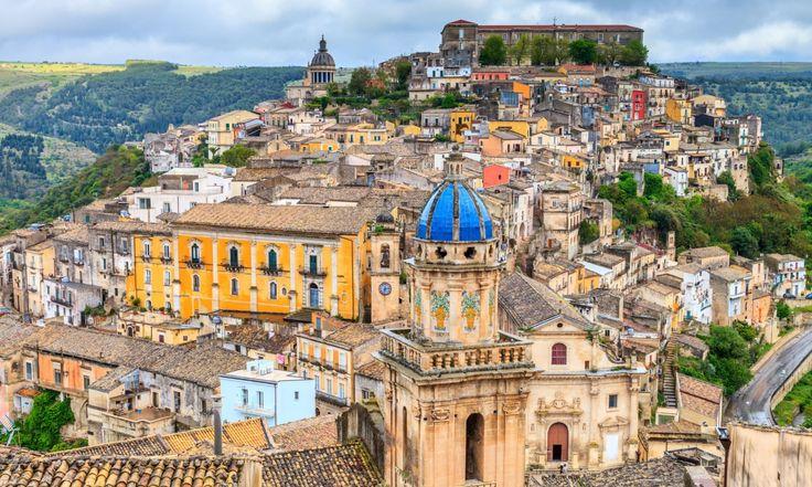 Hilltop jewel … Ragusa Ibla Sicily