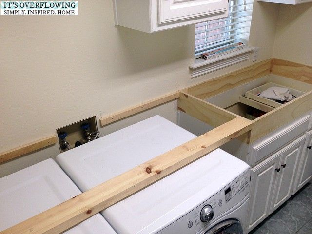 Best 25 washer dryer closet ideas on pinterest laundry for Laundry room countertop over washer and dryer