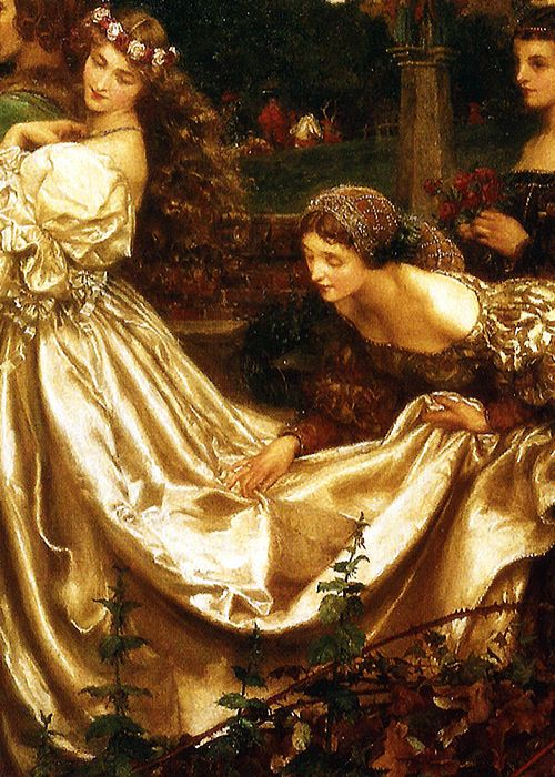 The Uninvited Guest by Eleanor Fortescue-Brickdale.  artemesia-violette:  Eleanor Fortescue-Brickdale - The Uninvited Guest