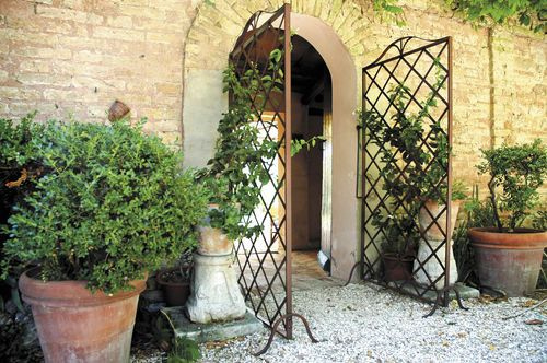 Green wall trellis / wrought iron UNOSIDER