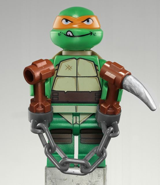 TMNT Michaelangelo by fbtb, via Flickr
