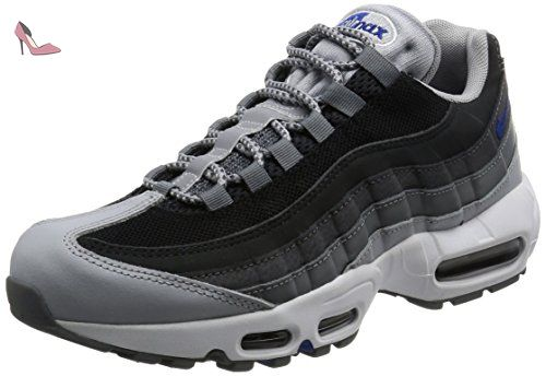 Nike Air Max 95 Essential, les Formateurs Homme, Gris (Wolf Grey/Game Royal/Black/Dark Grey), 43 EU - Chaussures nike (*Partner-Link)