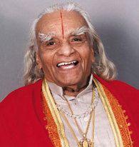 BKS Iyengar, the famous Yoga Guru