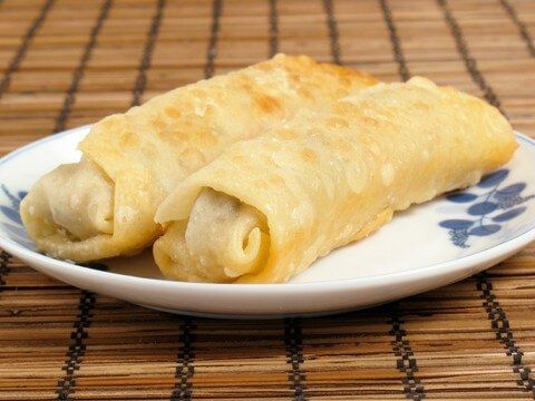 photo of Baked Chicken Egg Rolls