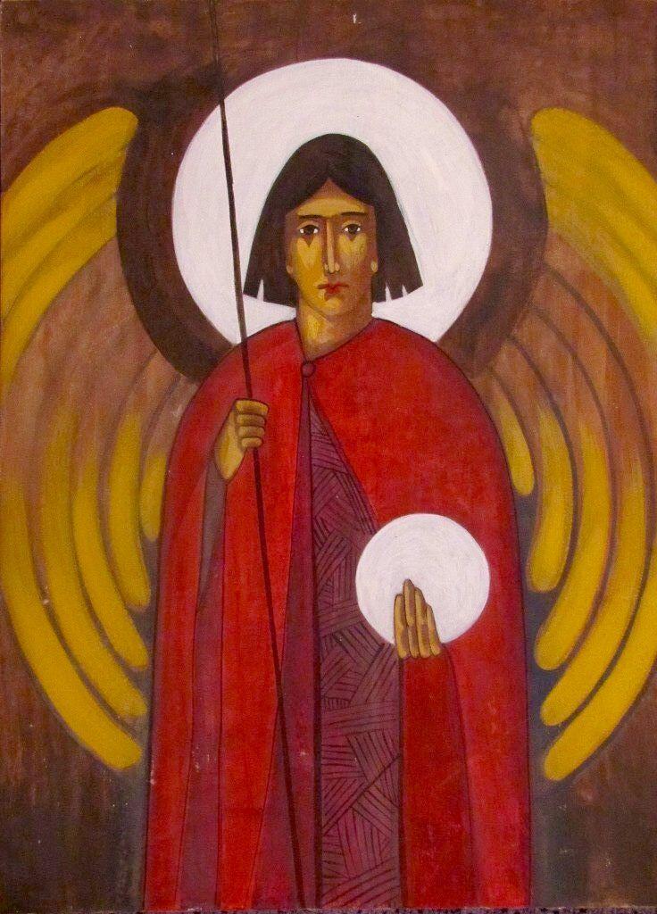 Archangel Michael (contemporary) Anna Kolisnyk
