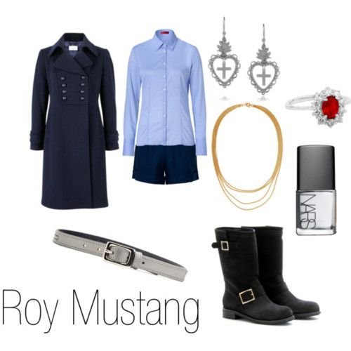 Fullmetal Alchemist!! Roy Mustang...  Casual Cosplay. < could do a mini skirt instead ;) for all those who get it