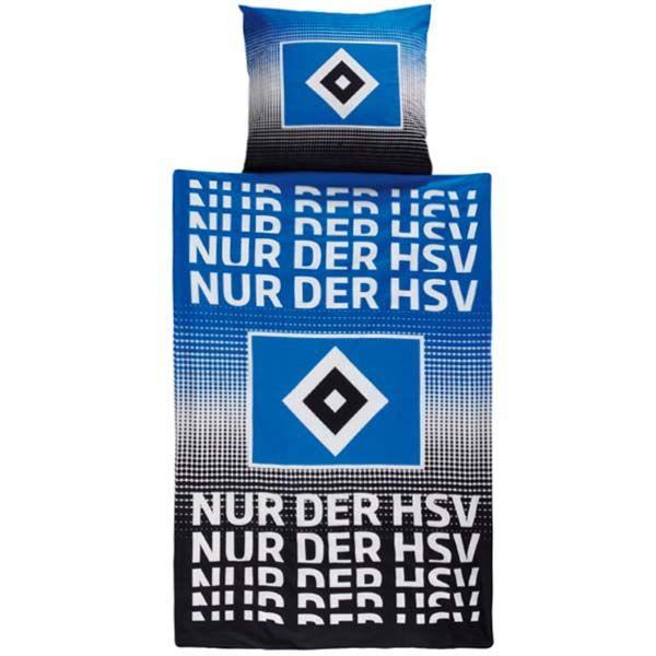HSV Bettwäsche Nur der HSV. Aktuelle HSV Bettwäsche der Saison 2016/2017 in der Größe von 135x200cm. Ein HSV Fussball Fanartikel den sich der echte HSV Fussball Fan nicht entgehen lassen sollte. Nur der HSV. http://www.fussball-fanshop-24.de/HSV-Bettwaesche-Nur-der-HSV.html