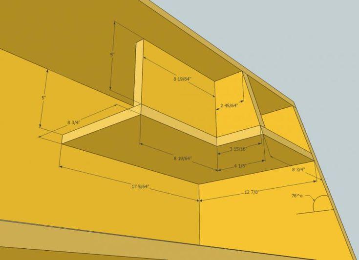 Image result for subwoofer box design for 15 inch