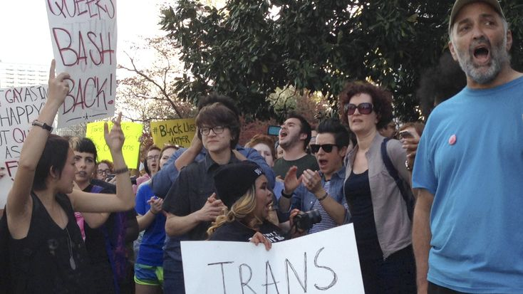 ACLU Sues Over North Carolina's Law Blocking Anti-Discrimination Legislation : The Two-Way : NPR